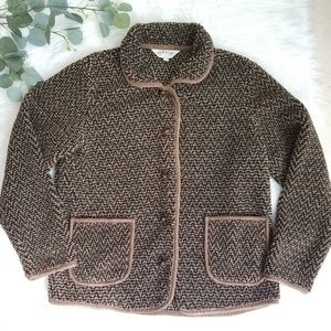 ORVIS Sporting Traditions Sweater Jacket Toggle M